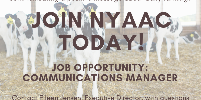 Image for NY Animal Agriculture Coalition Seeks Communications Manager